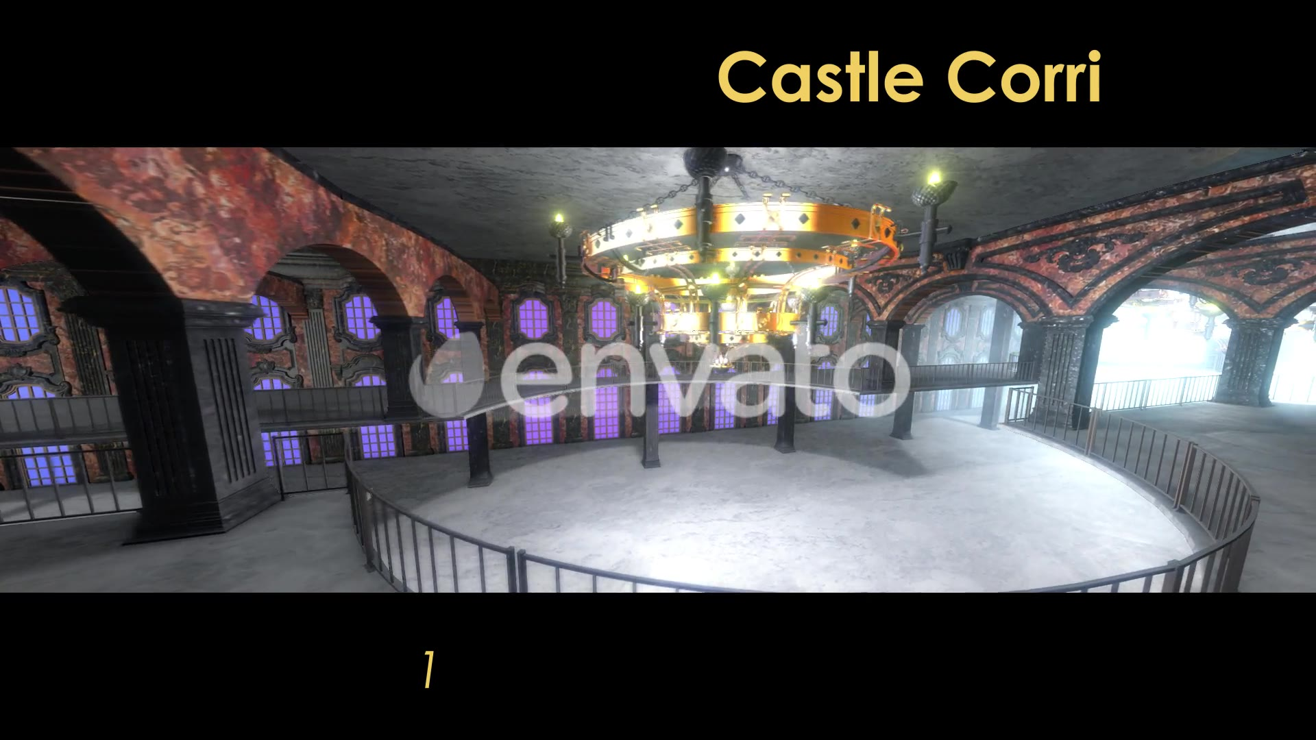 Castle Interior Loop Videohive 22120523 Motion Graphics Image 4