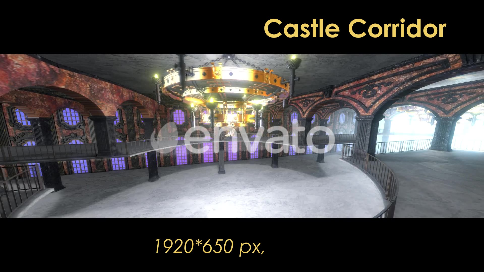 Castle Interior Loop Videohive 22120523 Motion Graphics Image 5