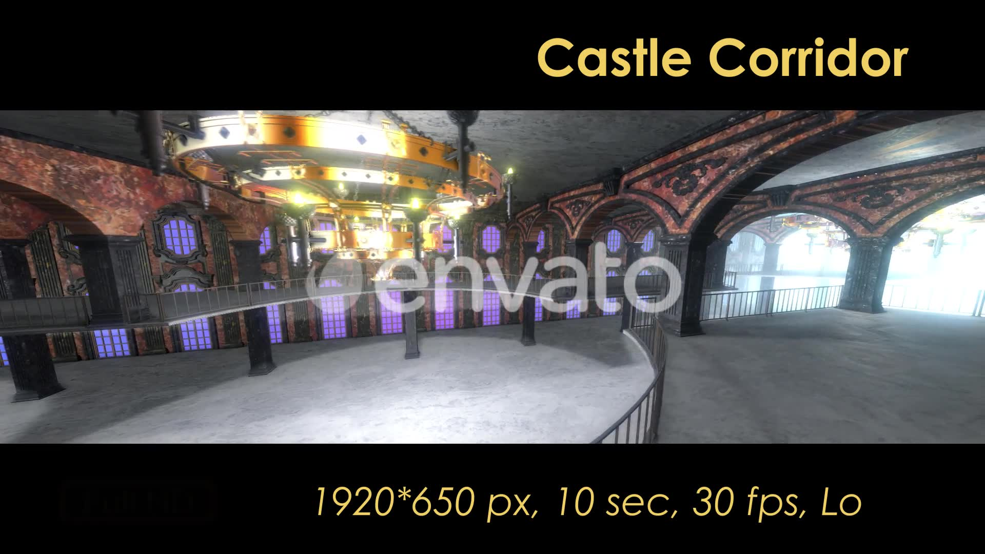 Castle Interior Loop Videohive 22120523 Motion Graphics Image 6