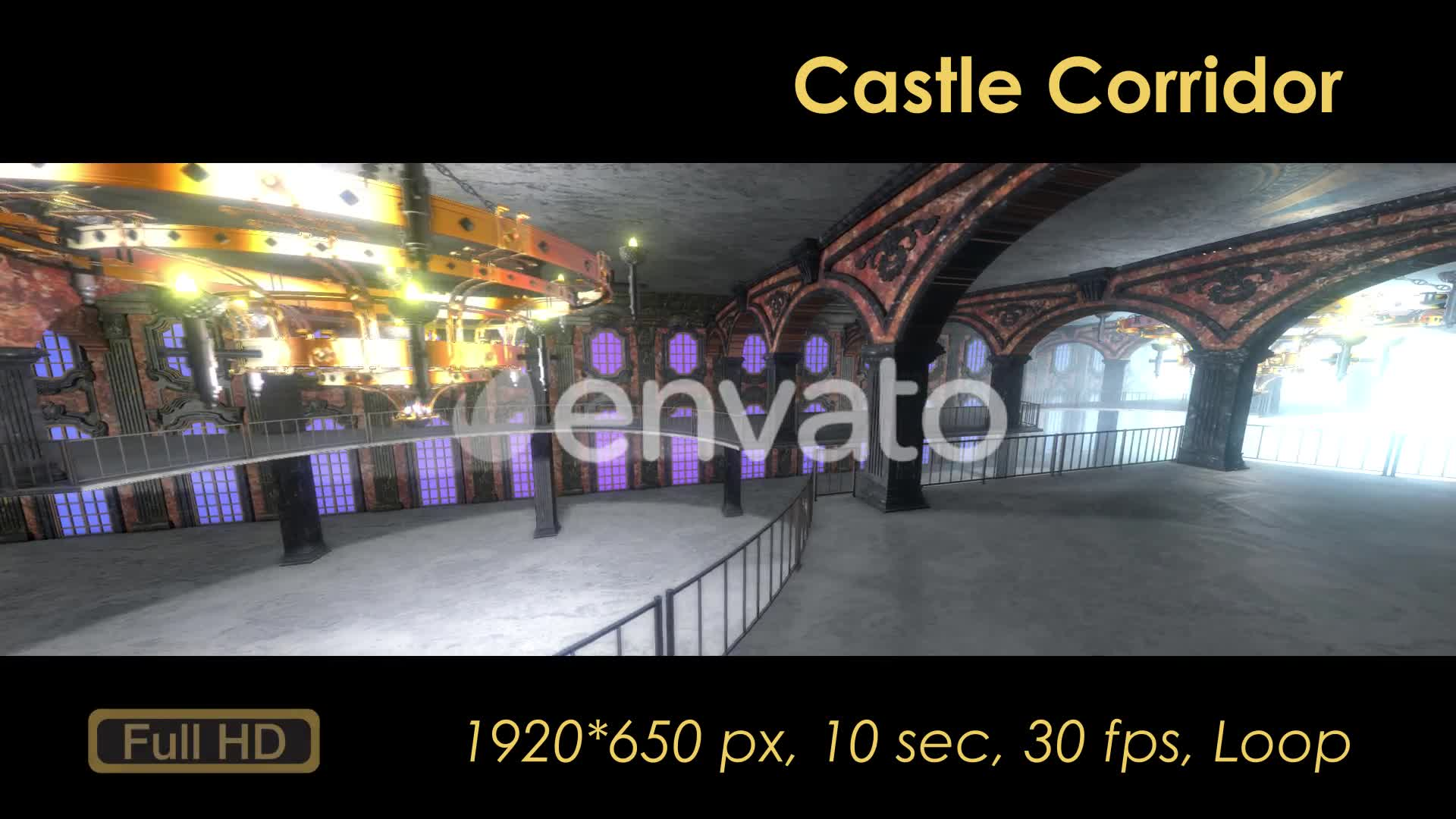 Castle Interior Loop Videohive 22120523 Motion Graphics Image 7