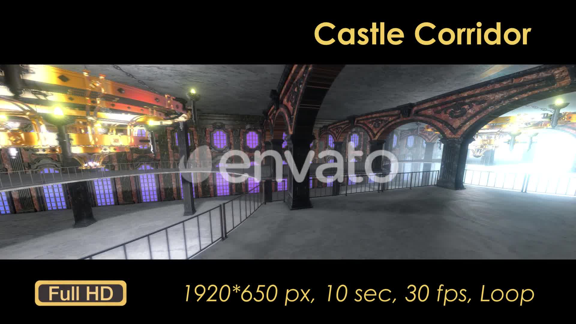 Castle Interior Loop Videohive 22120523 Motion Graphics Image 8