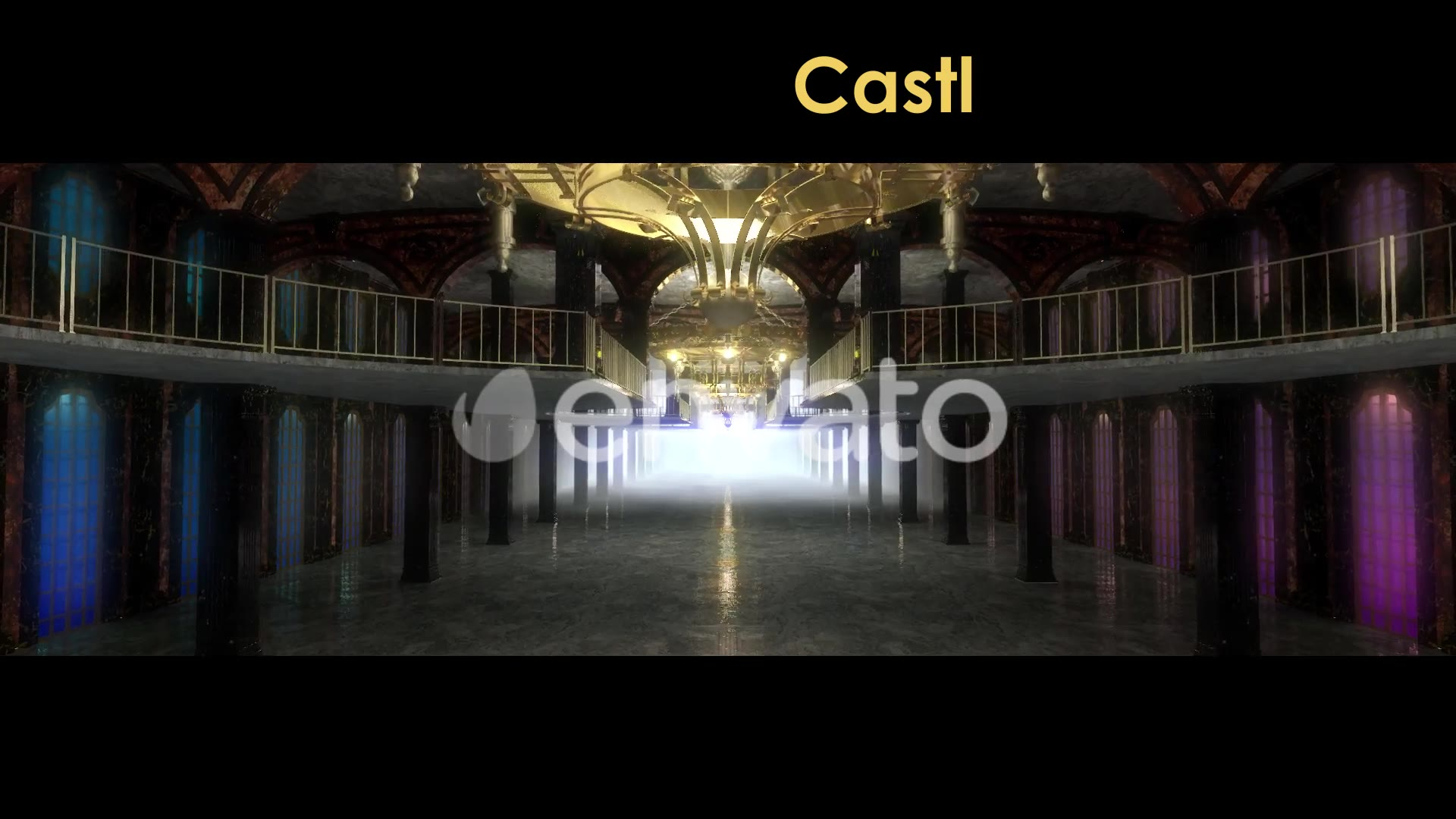Castle Interior Videohive 22120312 Motion Graphics Image 3