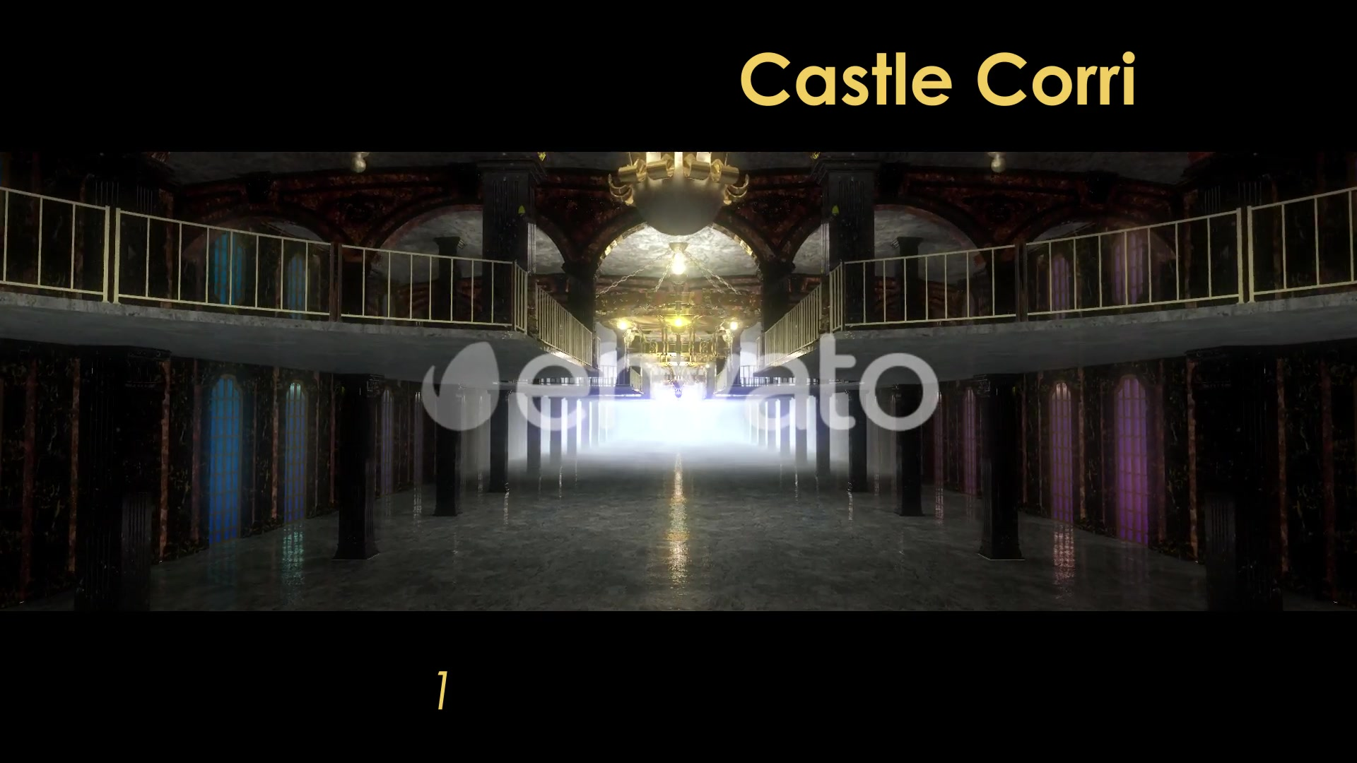 Castle Interior Videohive 22120312 Motion Graphics Image 4