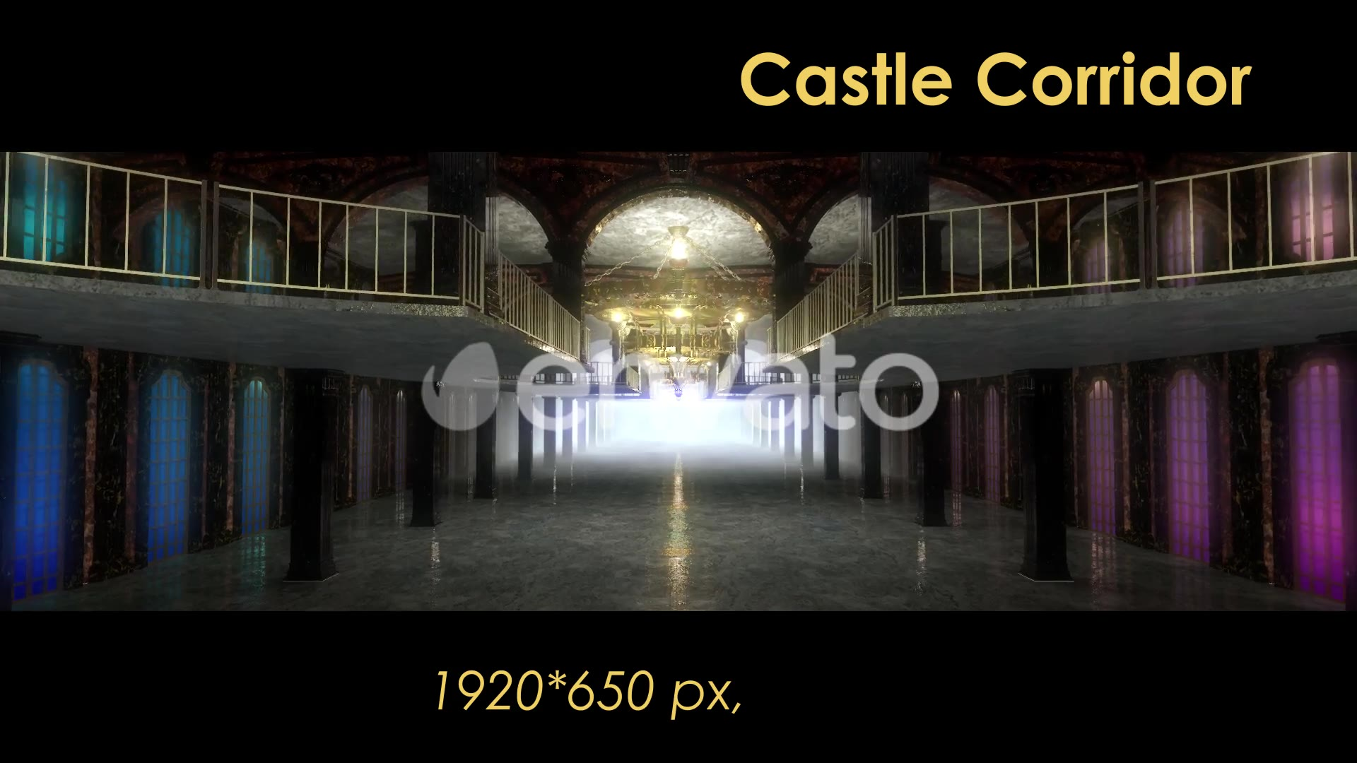Castle Interior Videohive 22120312 Motion Graphics Image 5