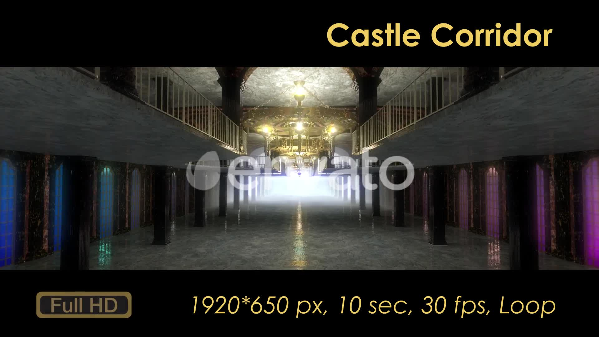 Castle Interior Videohive 22120312 Motion Graphics Image 7