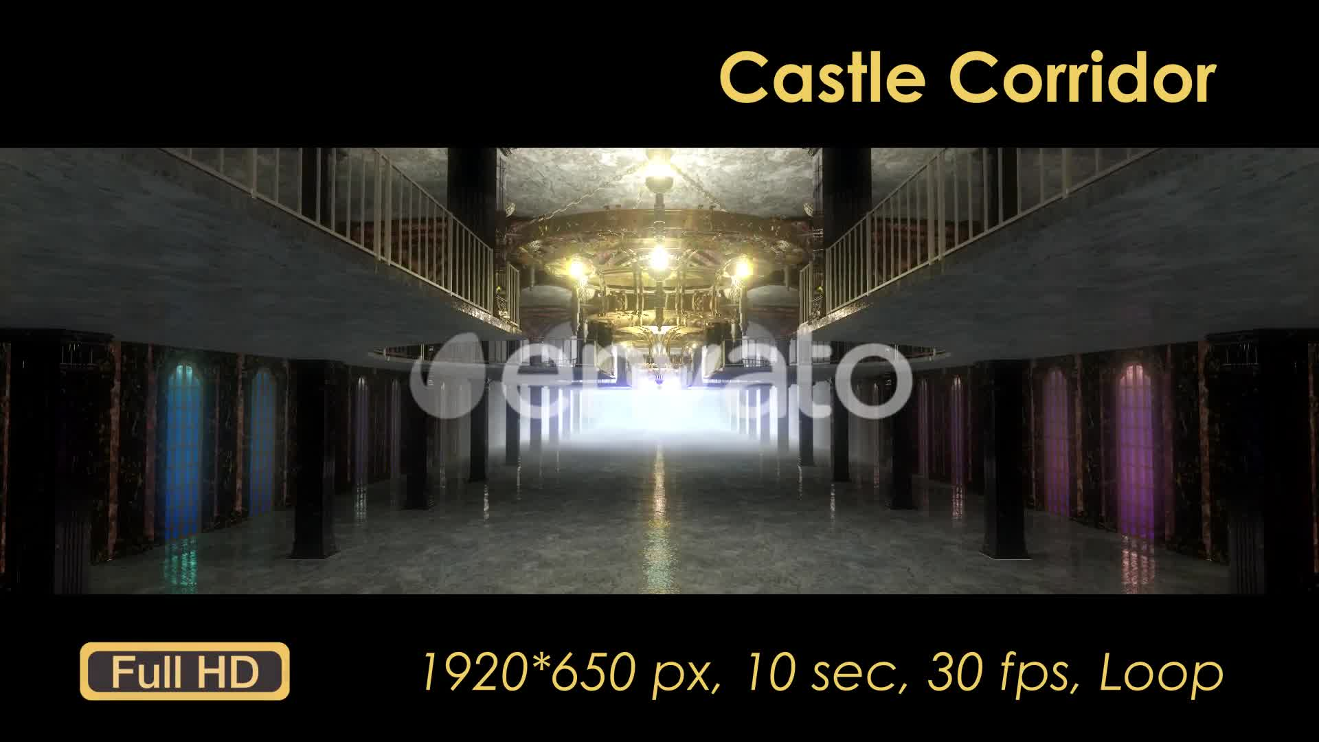 Castle Interior Videohive 22120312 Motion Graphics Image 8
