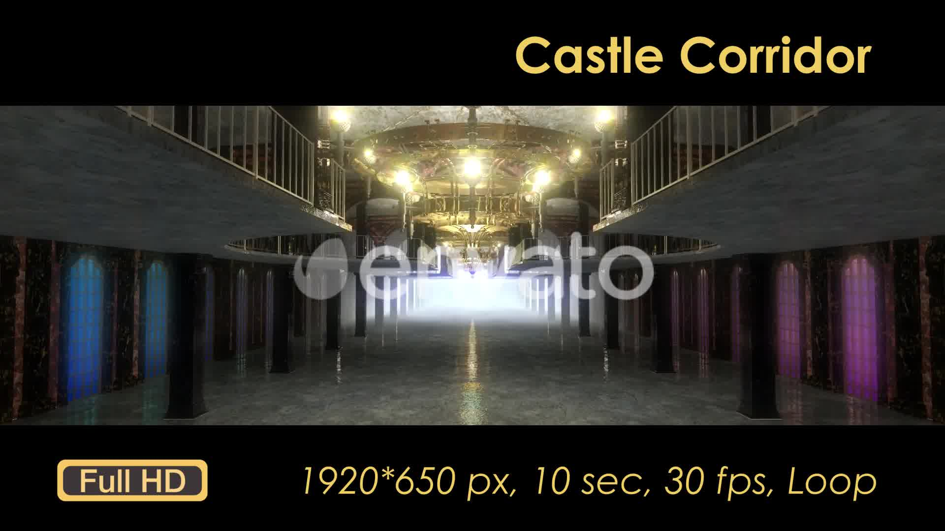Castle Interior Videohive 22120312 Motion Graphics Image 9