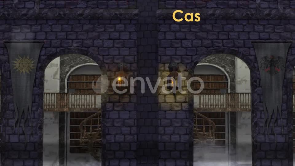 Castle Stage Scene Videohive 23034527 Motion Graphics Image 1