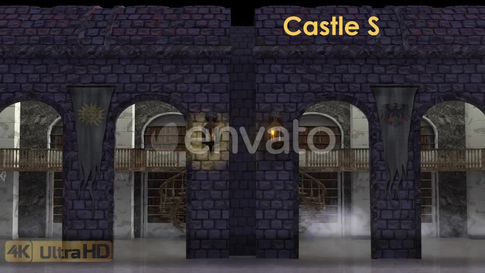 Castle Stage Scene Videohive 23034527 Motion Graphics Image 2