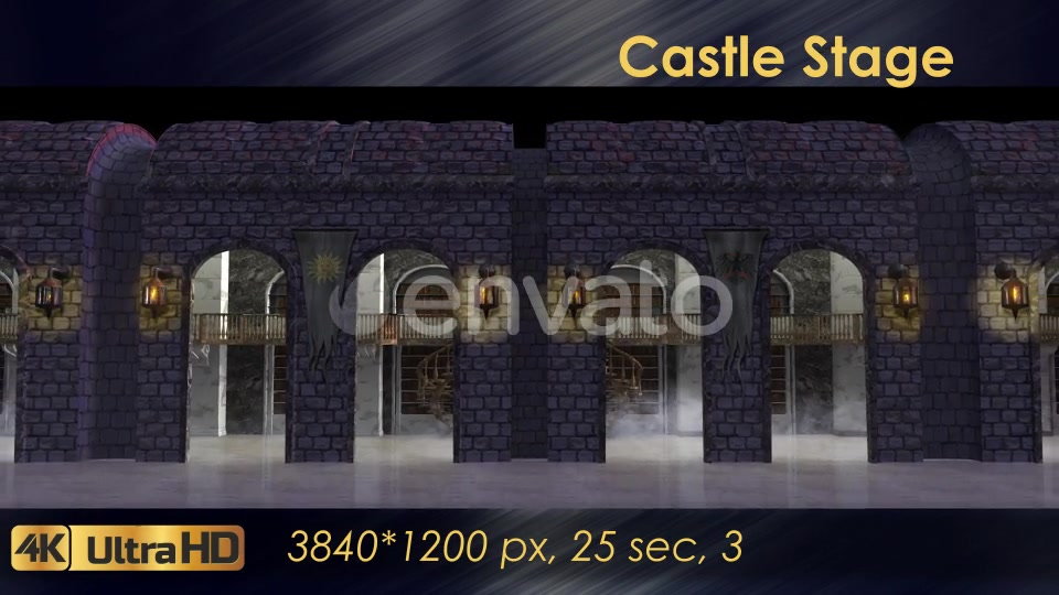 Castle Stage Scene Videohive 23034527 Motion Graphics Image 3