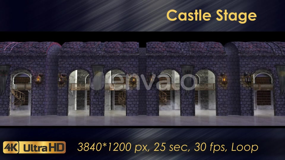 Castle Stage Scene Videohive 23034527 Motion Graphics Image 4