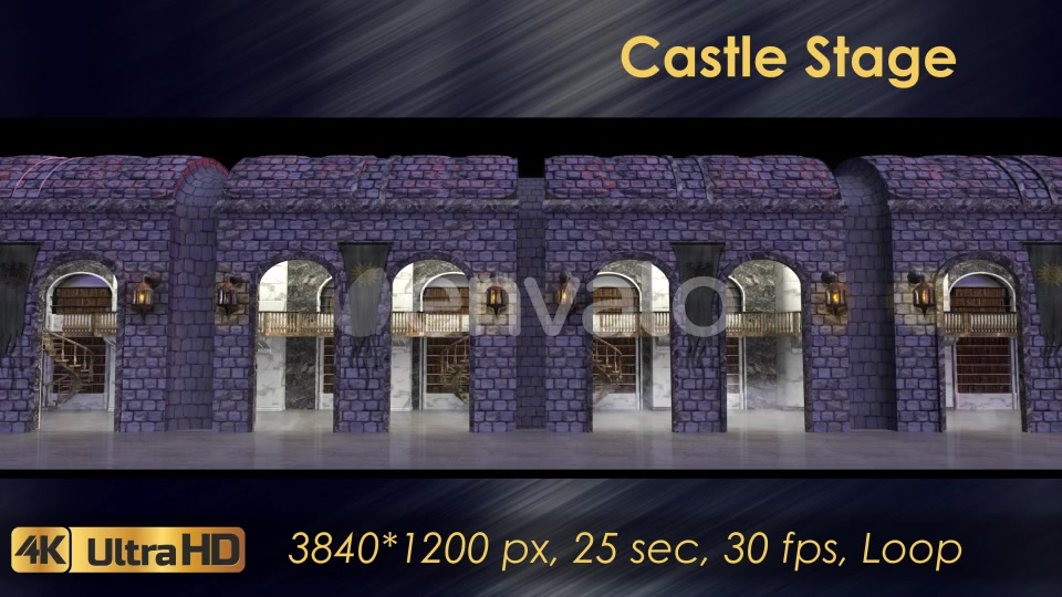 Castle Stage Scene Videohive 23034527 Motion Graphics Image 5