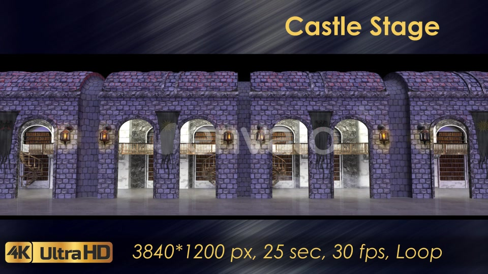 Castle Stage Scene Videohive 23034527 Motion Graphics Image 6