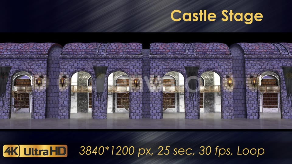 Castle Stage Scene Videohive 23034527 Motion Graphics Image 7