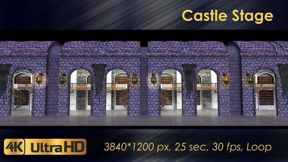 Castle Stage Scene - Download 23034527 Videohive