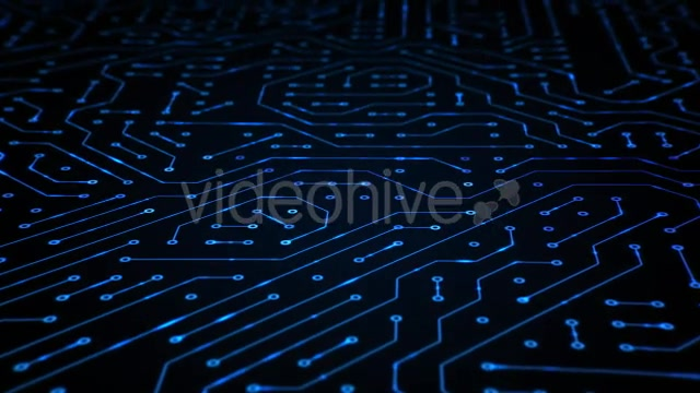 Circuit Board Closeup Loop 4K Videohive 19768258 Motion Graphics Image 5