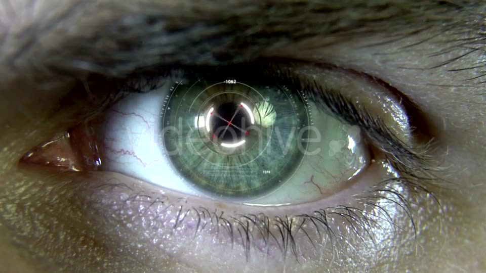 Eyes with Hologram Animation Videohive 19758447 Motion Graphics Image 10