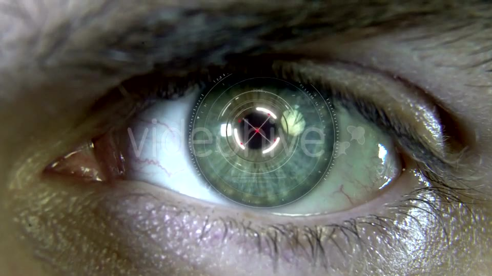 Eyes with Hologram Animation Videohive 19758447 Motion Graphics Image 2