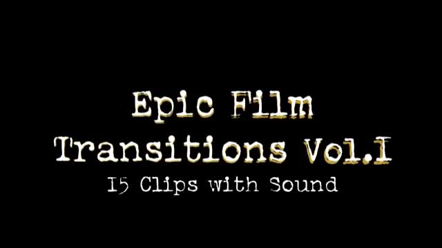Film Transitions Videohive 6500531 Motion Graphics Image 1
