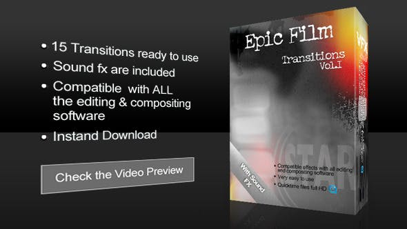 Film Transitions - Download Videohive 6500531