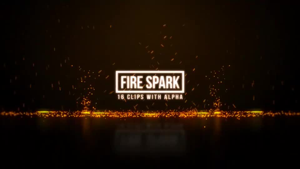 Fire Sparks Videohive 19713286 Motion Graphics Image 1