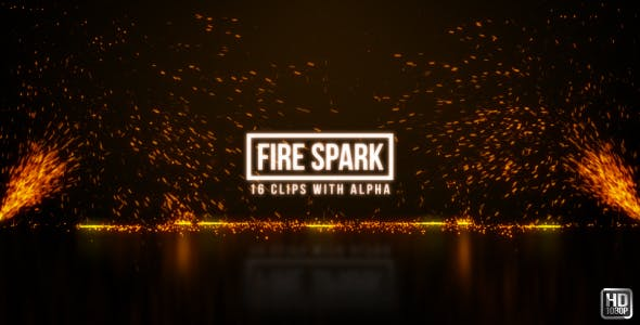 Fire Sparks - 19713286 Download Videohive