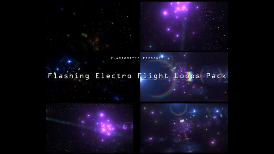 Flashing Electro Flight Pack Videohive 16852786 Motion Graphics Image 1