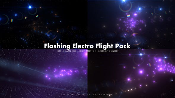 Flashing Electro Flight Pack - Videohive Download 16852786