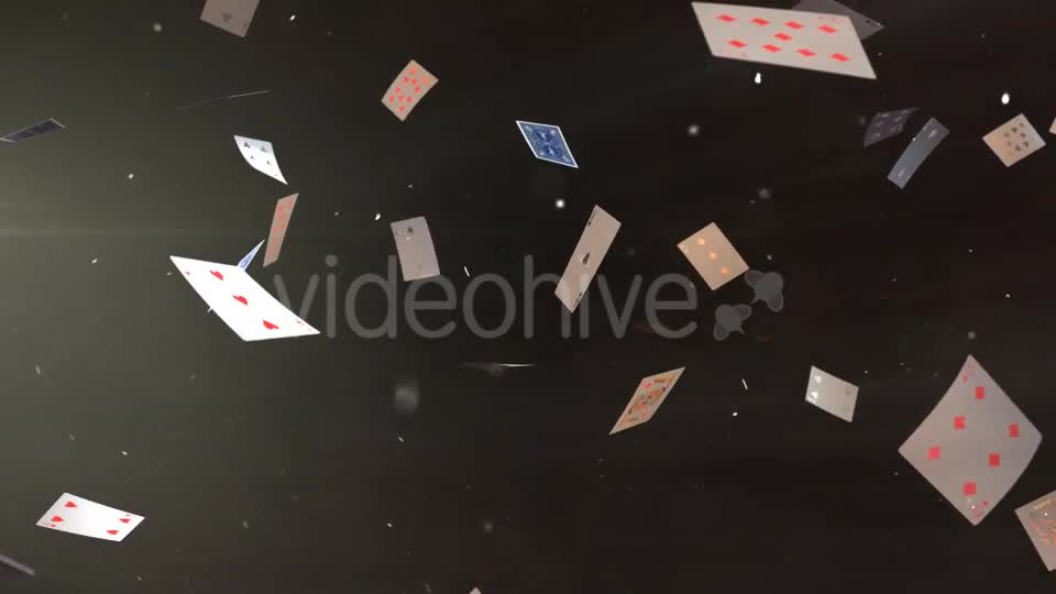 Flying Cards Videohive 17298751 Motion Graphics Image 1