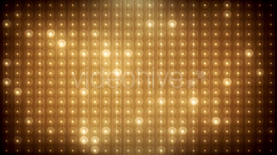 Gold Glitter Led Animated VJ Background Videohive 19702466 Motion Graphics Image 1
