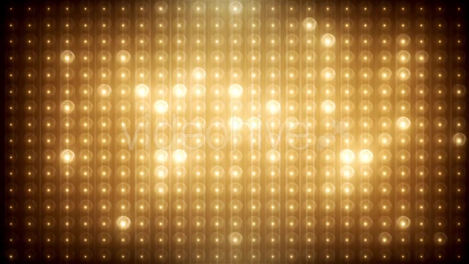 Gold Glitter Led Animated VJ Background Videohive 19702466 Motion Graphics Image 10