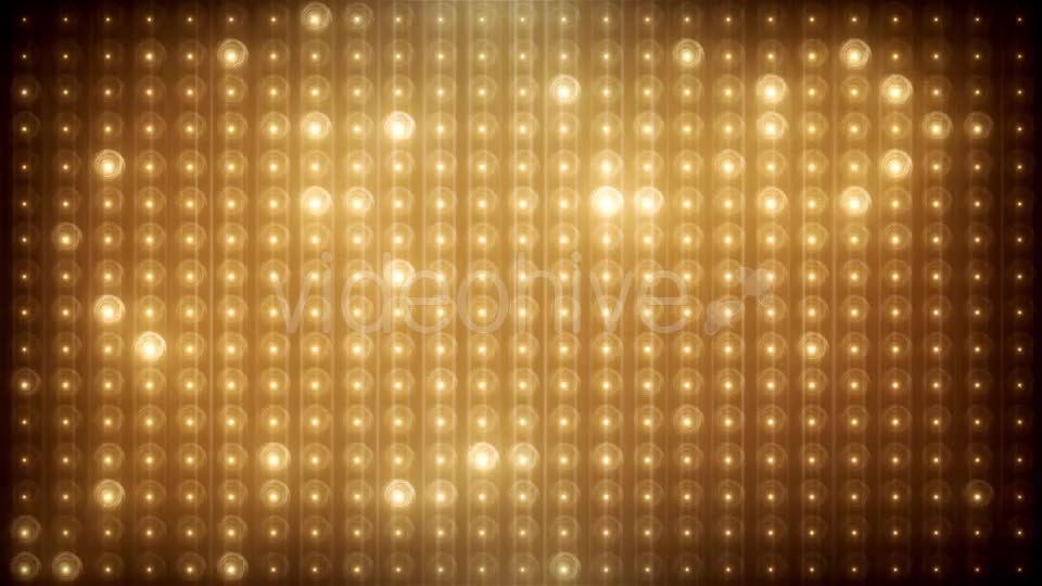 Gold Glitter Led Animated VJ Background Videohive 19702466 Motion Graphics Image 11