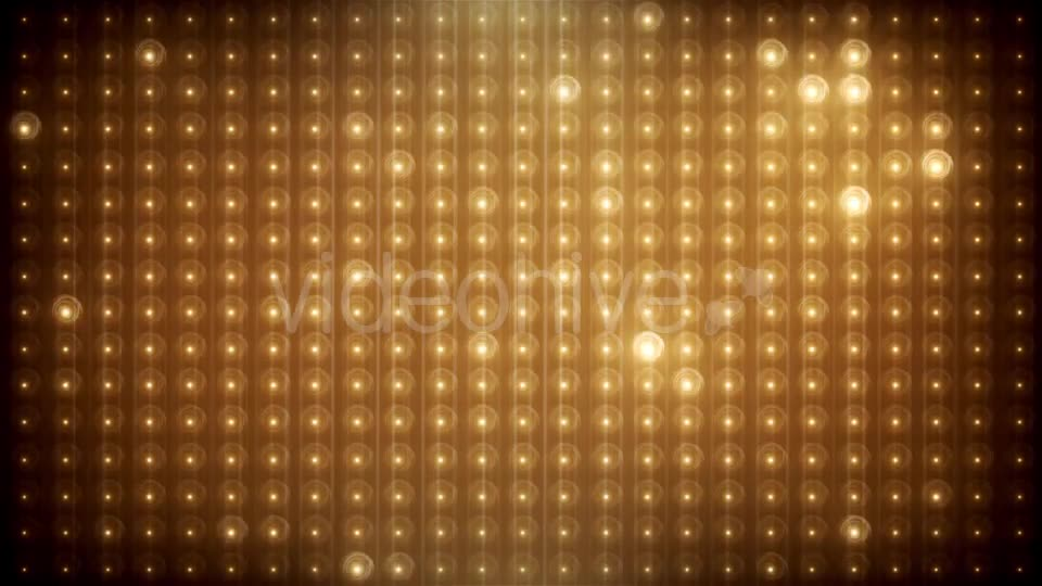 Gold Glitter Led Animated VJ Background Videohive 19702466 Motion Graphics Image 12