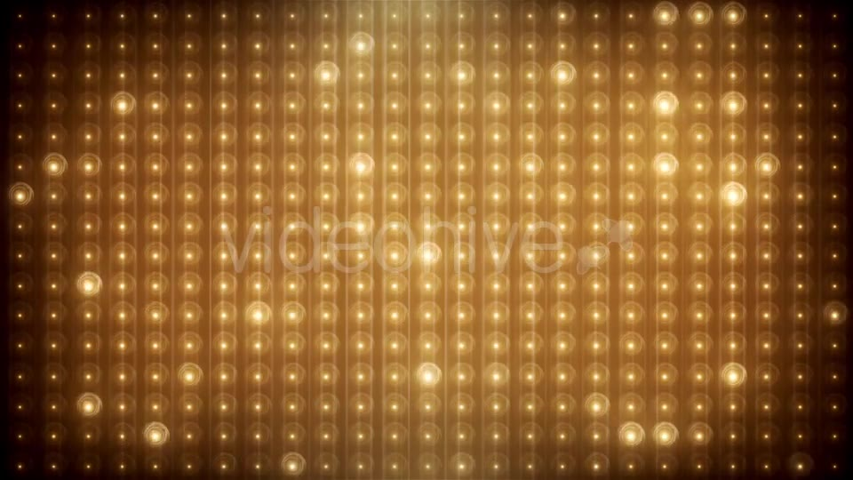 Gold Glitter Led Animated VJ Background Videohive 19702466 Motion Graphics Image 2