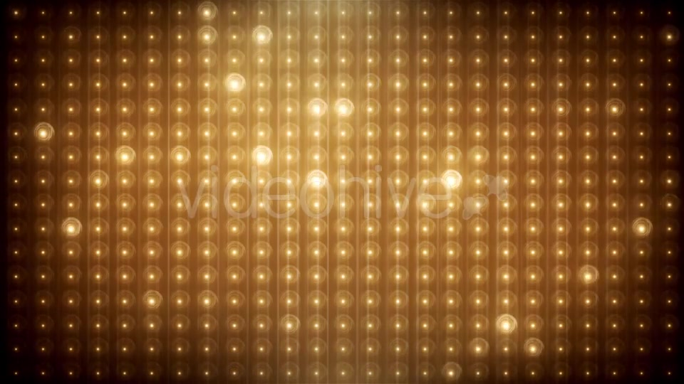 Gold Glitter Led Animated VJ Background Videohive 19702466 Motion Graphics Image 3