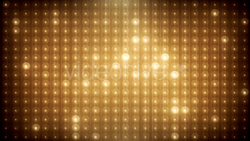 Gold Glitter Led Animated VJ Background Videohive 19702466 Motion Graphics Image 4