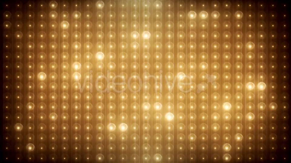 Gold Glitter Led Animated VJ Background Videohive 19702466 Motion Graphics Image 5