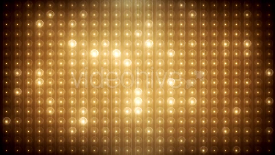 Gold Glitter Led Animated VJ Background Videohive 19702466 Motion Graphics Image 6