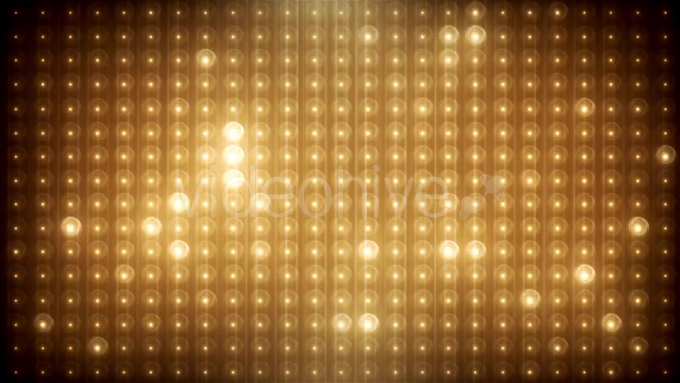 Gold Glitter Led Animated VJ Background Videohive 19702466 Motion Graphics Image 7