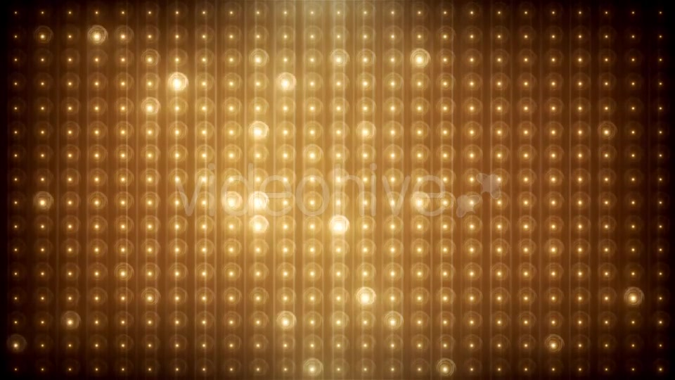 Gold Glitter Led Animated VJ Background Videohive 19702466 Motion Graphics Image 8