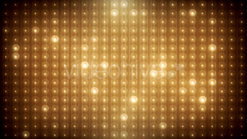 Gold Glitter Led Animated VJ Background Videohive 19702466 Motion Graphics Image 9