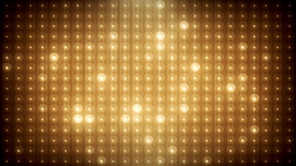 Gold Glitter Led Animated VJ Background - 19702466 Download Videohive