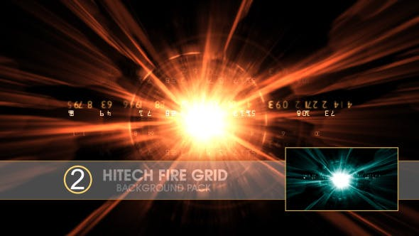 Hi Tech Fire Grid - Download Videohive 6703532