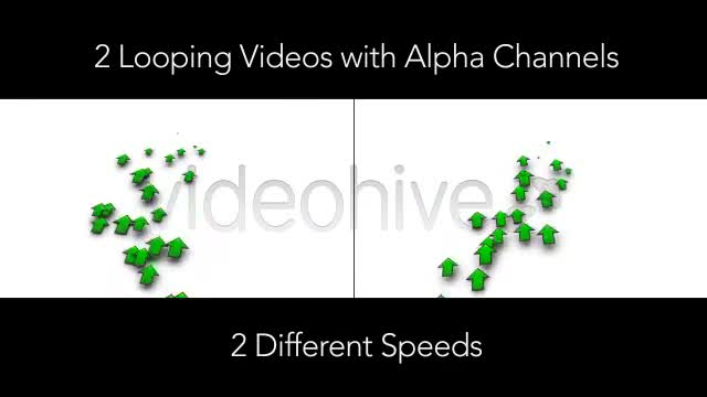 Increasing Investment Profit Arrows With Alpha Videohive 4084185 Motion Graphics Image 1