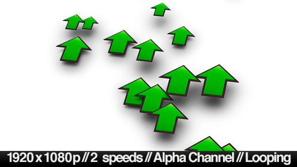 Increasing Investment Profit Arrows With Alpha - Download Videohive 4084185