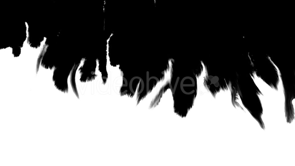 Ink Flowing From Top To Bottom on Wet Paper 04 Videohive 19697827 Motion Graphics Image 5