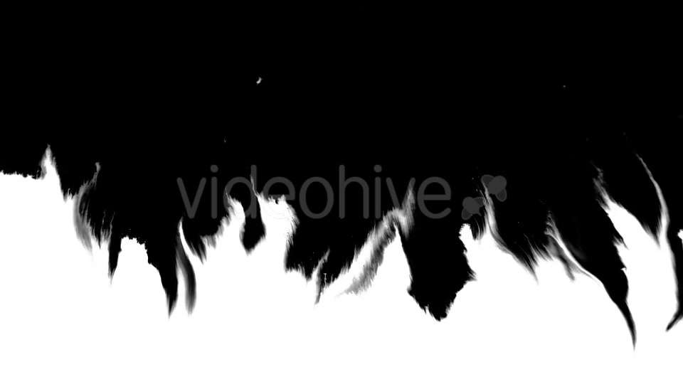 Ink Flowing From Top To Bottom on Wet Paper 04 Videohive 19697827 Motion Graphics Image 7