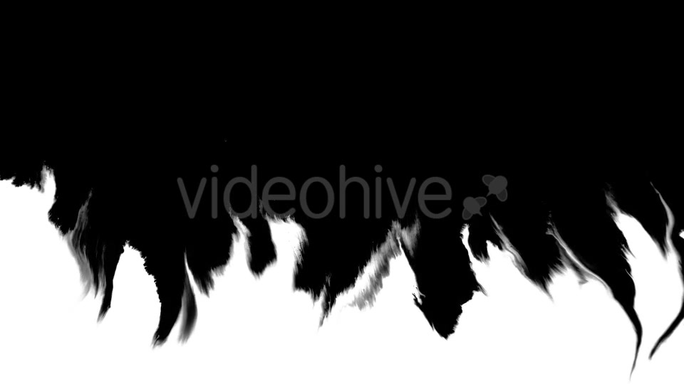 Ink Flowing From Top To Bottom on Wet Paper 04 Videohive 19697827 Motion Graphics Image 8