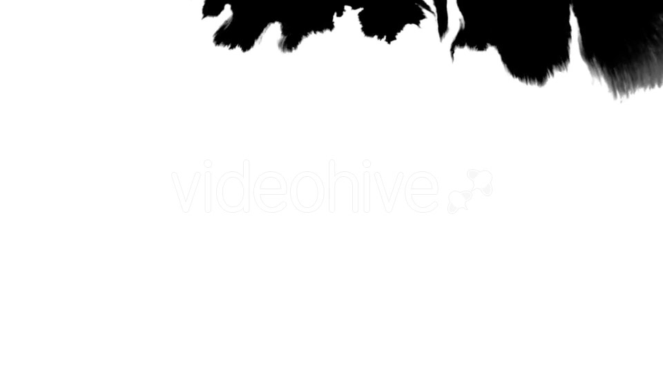Ink Flowing From Top To Bottom on Wet Paper 06 Videohive 19697656 Motion Graphics Image 2