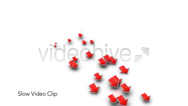 Into the Red Investment Losses Arrows With Alpha Videohive 4093312 Motion Graphics Image 10